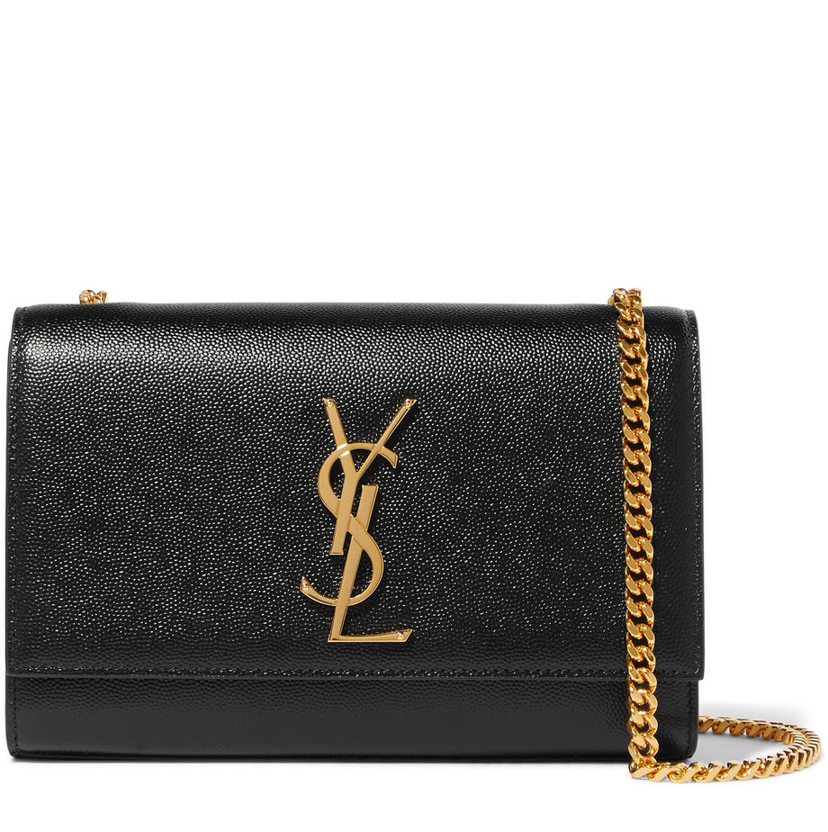 197f1fdc1051 YSL Small Kate Monogram Bag - Black - Adorn Collection