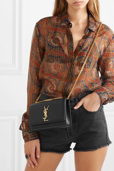 Ysl Small Kate Monogram Bag Black Adorn Collection
