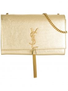 YSL Medium Kate Tassel Bag – Gold