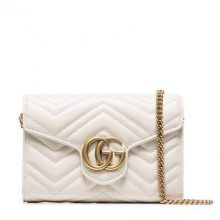 GUCCI Marmont Crossbody Bag – Ivory