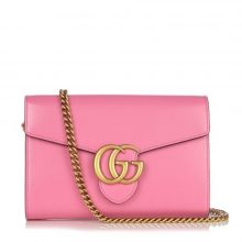 GUCCI Marmont Wallet Chain Bag – Pink