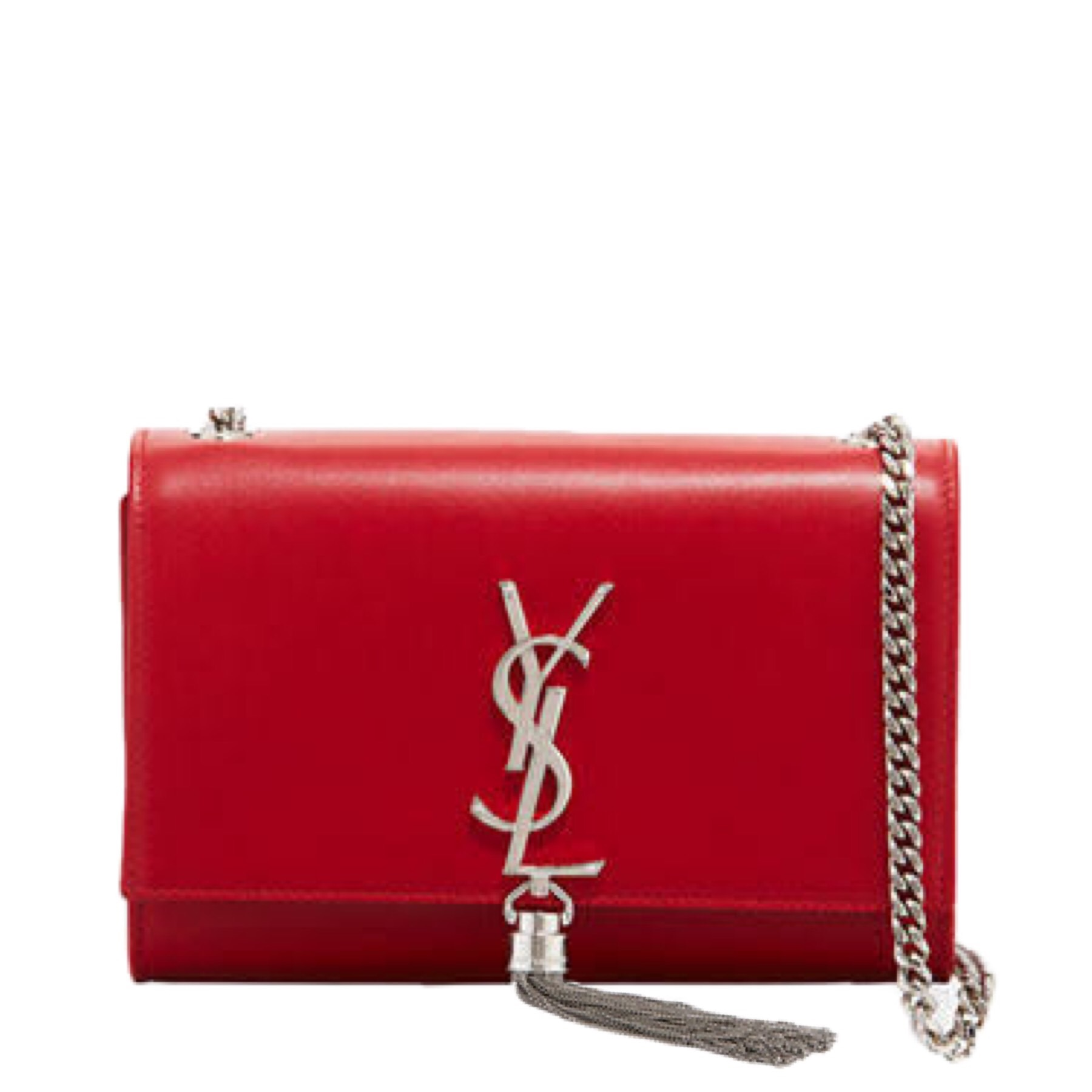 Ysl Small Kate Tassel Bag Eros Red Adorn Collection