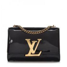 LOUIS VUITTON Patent Louise MM Chain Bag – Black – ARRIVING SOON