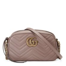 GUCCI Marmont Small Shoulder Bag – Dusty Pink