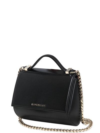 GIVENCHY Pandora Box mini shoulder bag - Black - Adorn Collection d8405d5aa42cc