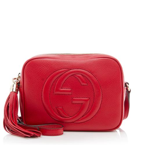 df1557fd9b3 Gucci soho disco bag - Red - Adorn Collection