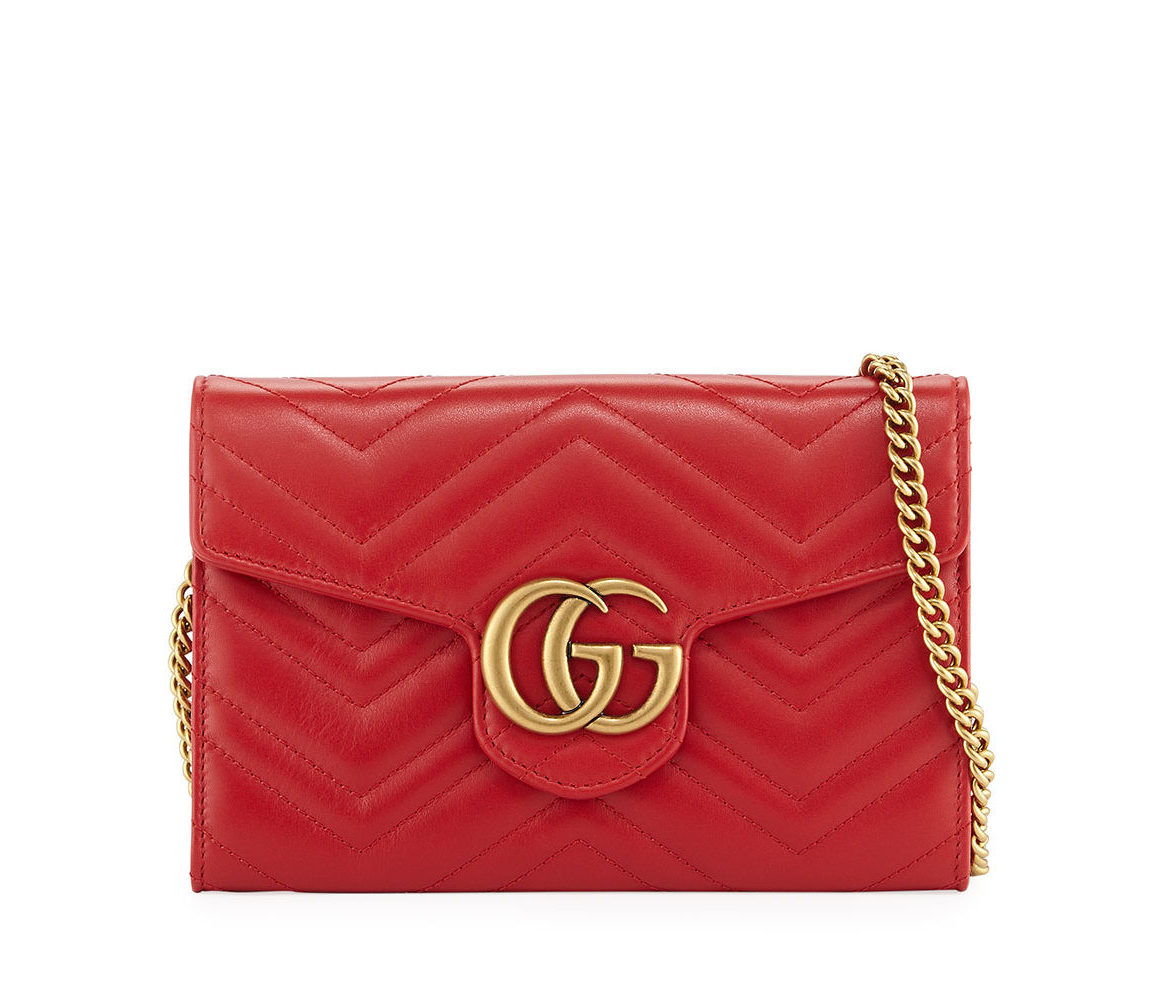 GUCCI Marmont crossbody bag , Red