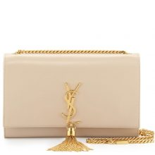 YSL Medium Kate Tassel Bag – Beige