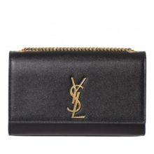YSL Medium Kate Monogram Bag – Black