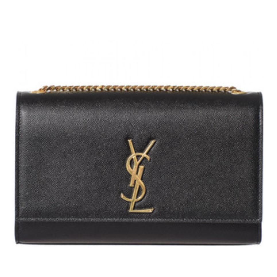 Ysl Medium Kate Monogram Bag Black Adorn Collection