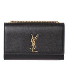 YSL Medium Kate Monogram Bag – Black