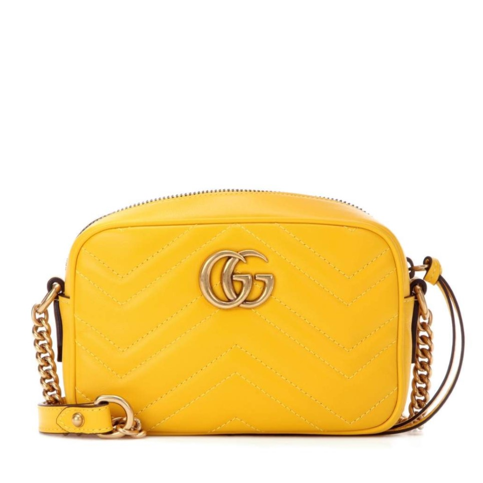4ea62995849 GUCCI Marmont Mini Camera Bag - Bright Yellow - Adorn Collection
